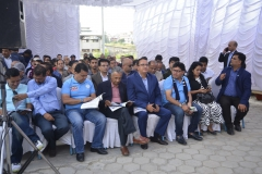 'Formal Program during Flag Hoisting'