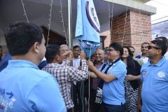 'Flag Hoisting'