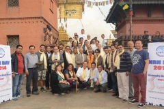Early-Morning-Puja-at-Swaymbhunath-Temple-on-11-Oct-14