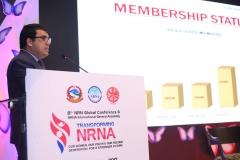 Dr.Badri-K.C-presenting-about-membership-status-at-the-Program